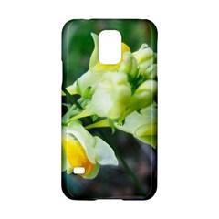 Linaria Flower Samsung Galaxy S5 Hardshell Case  by ansteybeta