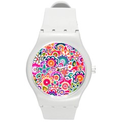 Eden s Garden Plastic Sport Watch (medium) by KirstenStar