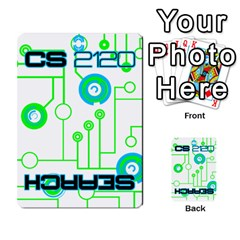 Cs 2120 Search Deck By Steve   Playing Cards 54 Designs   P2bot12cpnqp   Www Artscow Com Back