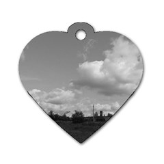 Abandoned Dog Tag Heart (one Sided)  by ansteybeta