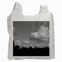 Abandoned White Reusable Bag (one Side)