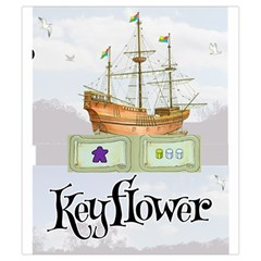 Keyflower Contracts By Kirk Dennison   Drawstring Pouch (small)   8xhih7zs0zdw   Www Artscow Com Back