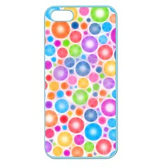 Candy Color s Circles Apple Seamless Iphone 5 Case (color) by KirstenStar
