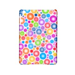 Candy Color s Circles Apple iPad Mini 2 Hardshell Case by KirstenStar