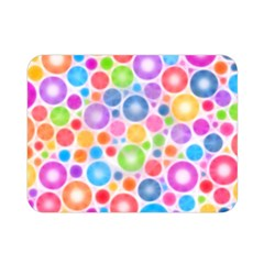 Candy Color s Circles Double Sided Flano Blanket (mini)
