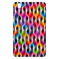 Rainbow Psychedelic Waves Samsung Galaxy Tab Pro 8 4 Hardshell Case by KirstenStar