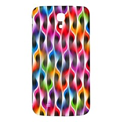 Rainbow Psychedelic Waves Samsung Galaxy Mega I9200 Hardshell Back Case by KirstenStar