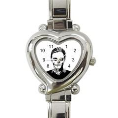 Tatezazzle Heart Italian Charm Watch  by kramcox