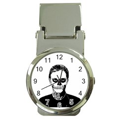 Tatezazzle Money Clip With Watch by kramcox