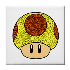 Really Mega Mushroom Ceramic Tile by kramcox