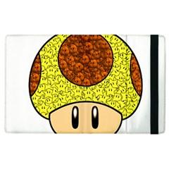 Really Mega Mushroom Apple Ipad 2 Flip Case by kramcox