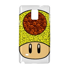Really Mega Mushroom Samsung Galaxy Note 4 Hardshell Case by kramcox