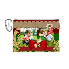 Xmas By Xmas   Canvas Cosmetic Bag (medium)   Mabhgrqmvb63   Www Artscow Com Front