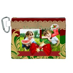 Xmas By Xmas   Canvas Cosmetic Bag (xl)   V2tkhqokuiub   Www Artscow Com Front