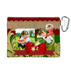 Xmas By Xmas   Canvas Cosmetic Bag (xl)   V2tkhqokuiub   Www Artscow Com Back