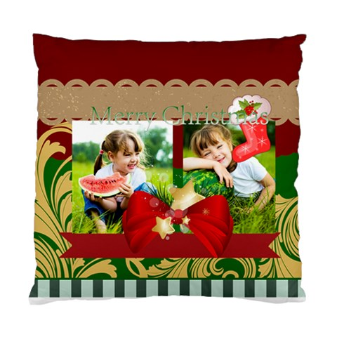 Xmas By Xmas   Standard Cushion Case (one Side)   Swkw2ogr3o7k   Www Artscow Com Front