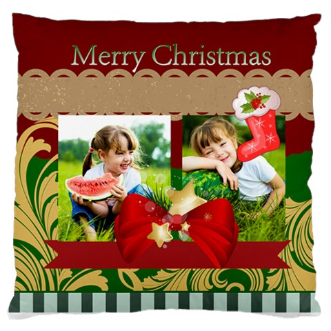 Xmas By Xmas   Standard Flano Cushion Case (one Side)   3a6ygckyuvne   Www Artscow Com Front
