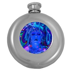 Organic Connection Hip Flask (round) by icarusismartdesigns