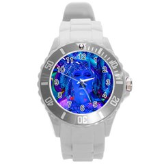 Organic Connection Plastic Sport Watch (large) by icarusismartdesigns