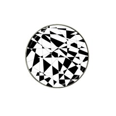 Shattered Life In Black & White Golf Ball Marker 10 Pack (for Hat Clip) by StuffOrSomething