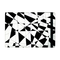 Shattered Life In Black & White Apple Ipad Mini Flip Case by StuffOrSomething