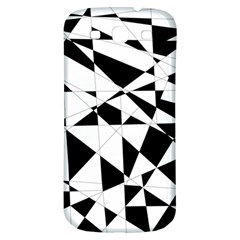 Shattered Life In Black & White Samsung Galaxy S3 S Iii Classic Hardshell Back Case by StuffOrSomething