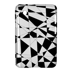 Shattered Life In Black & White Samsung Galaxy Tab 2 (7 ) P3100 Hardshell Case  by StuffOrSomething