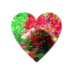 Summer Time Magnet (heart) by icarusismartdesigns