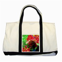 Summer Time Two Toned Tote Bag by icarusismartdesigns