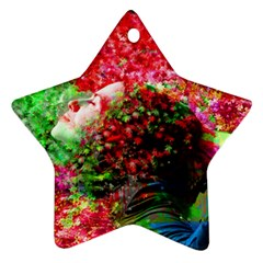 Summer Time Star Ornament (two Sides) by icarusismartdesigns