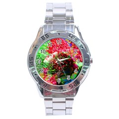 Summer Time Stainless Steel Watch by icarusismartdesigns
