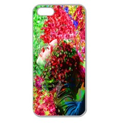 Summer Time Apple Seamless Iphone 5 Case (clear) by icarusismartdesigns