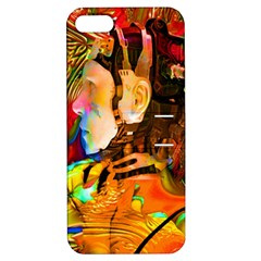 Robot Connection Apple Iphone 5 Hardshell Case With Stand by icarusismartdesigns