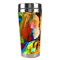 Robot Connection Stainless Steel Travel Tumbler by icarusismartdesigns