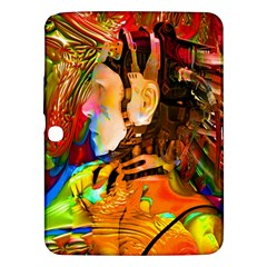 Robot Connection Samsung Galaxy Tab 3 (10 1 ) P5200 Hardshell Case  by icarusismartdesigns
