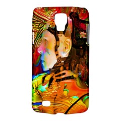 Robot Connection Samsung Galaxy S4 Active (i9295) Hardshell Case by icarusismartdesigns