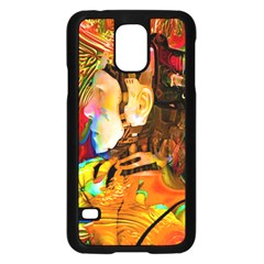 Robot Connection Samsung Galaxy S5 Case (black) by icarusismartdesigns