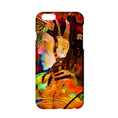 Robot Connection Apple Iphone 6 Hardshell Case by icarusismartdesigns