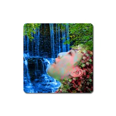Fountain Of Youth Magnet (square) by icarusismartdesigns
