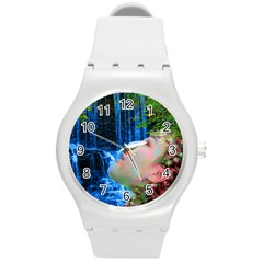 Fountain Of Youth Plastic Sport Watch (medium) by icarusismartdesigns