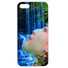 Fountain Of Youth Apple Iphone 5 Hardshell Case With Stand by icarusismartdesigns
