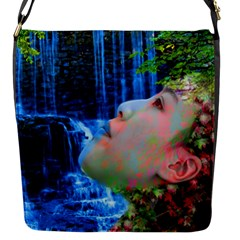 Fountain Of Youth Flap Closure Messenger Bag (small) by icarusismartdesigns