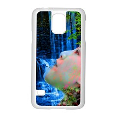 Fountain Of Youth Samsung Galaxy S5 Case (white) by icarusismartdesigns