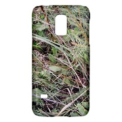Linaria Grass Pattern Samsung Galaxy S5 Mini Hardshell Case  by ansteybeta