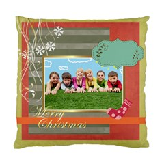 Xmas By Xmas   Standard Cushion Case (two Sides)   C4pa2o19b3vh   Www Artscow Com Back