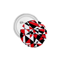 Shattered Life Tricolor 1 75  Button by StuffOrSomething