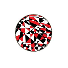 Shattered Life Tricolor Golf Ball Marker (for Hat Clip) by StuffOrSomething