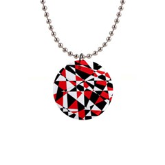 Shattered Life Tricolor Button Necklace by StuffOrSomething