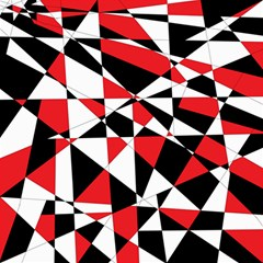 Shattered Life Tricolor Canvas 12  X 12  (unframed) by StuffOrSomething