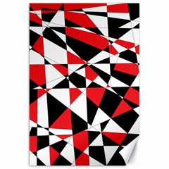 Shattered Life Tricolor Canvas 20  X 30  (unframed) by StuffOrSomething